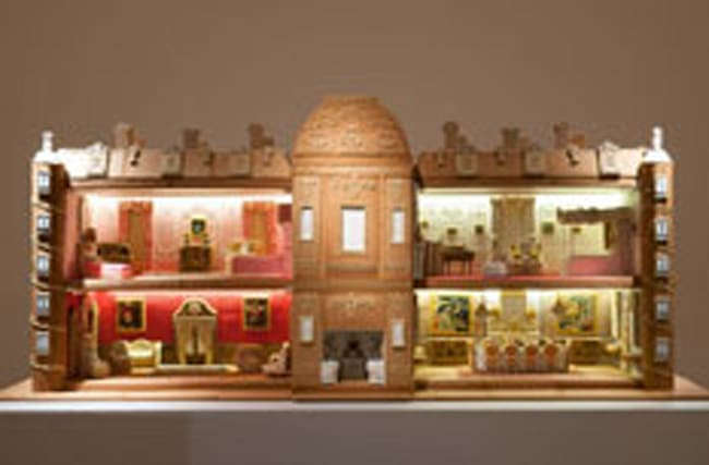 Incredible gingerbread versions of England's stately homes