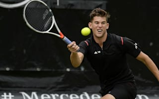 Thiem delights in victory over Federer