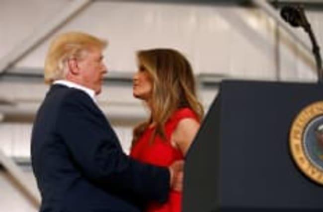 Die unsichtbare First Lady: Neun Fakten über Melania Trump