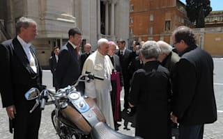 Harley Davidson owned by Pope Francis to be sold at auction