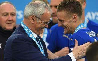 Vardy will get 'the last word' on Arsenal move - Ranieri