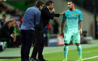 Valencia fans' Alcacer anger normal - Luis Enrique