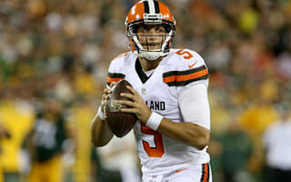 Browns to start rookie QB Kessler in place of injured McCown