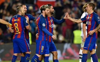 Barcelona pass masters set new Champions League benchmark