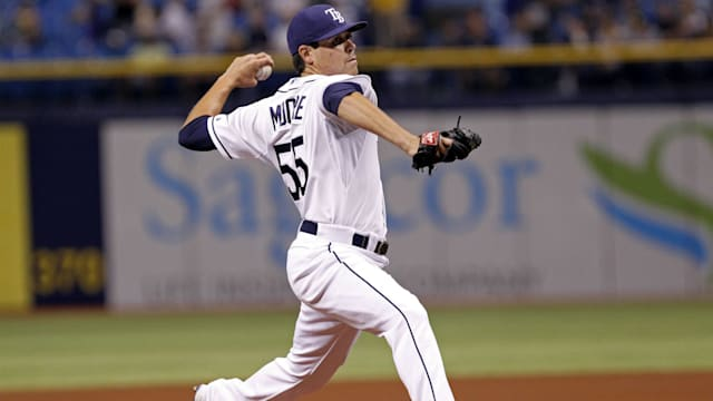 Royals' Duffy holds Rays hitless through 6 innings