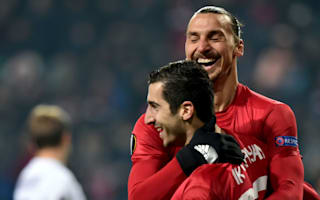 Ibrahimovic 'super happy' for rejuvenated Mkhitaryan