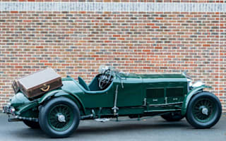 Classic Bentley with Louis Vuitton luggage goes on sale
