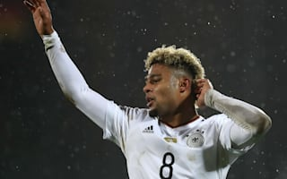 San Marino 0 Germany 8: Debut hat-trick for Gnabry in rout