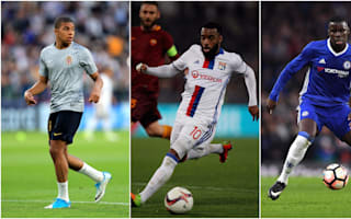 Mbappe named in star-studded France squad as Lacazette and Zouma return