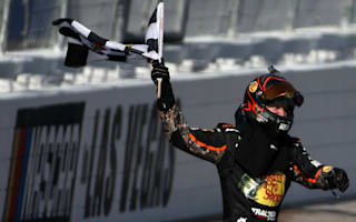 Truex Jr. dominates Las Vegas race marred by post-race fight