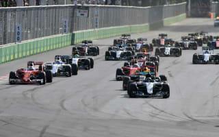 Rosberg cruises to Baku victory as Hamilton fumes at Mercedes