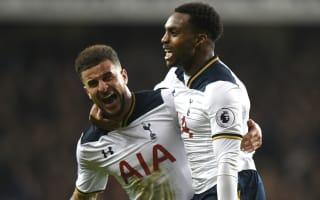 Rose: Walker is Premier League's best full-back