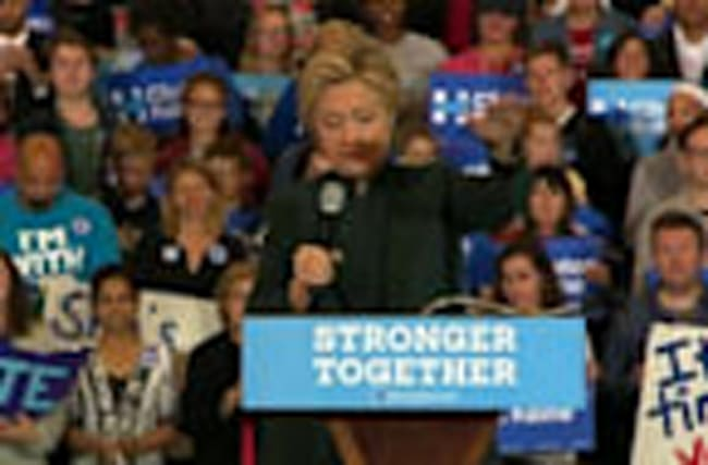 'Peaceful transition sets us apart' - Clinton