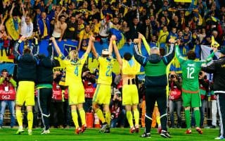 Ukraine coach Fomenko revels in Euro 2016 qualification