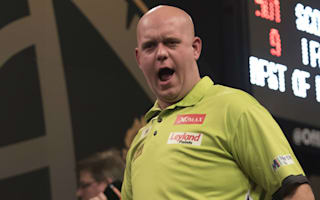 Van Gerwen cruises, Taylor sets up Van Barneveld clash