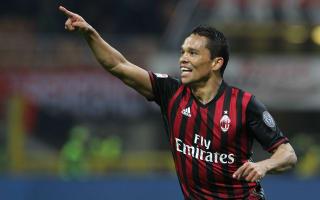 AC Milan 3 Chievo 1: Bacca brace keeps hosts in European hunt