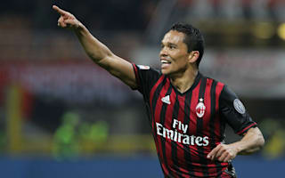 AC Milan 3 Chievo 1: Bacca brace keeps hosts in European hunt