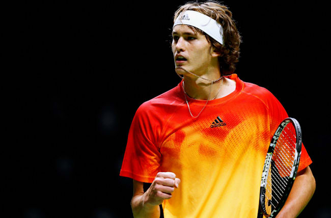 Zverev continues rise with Simon win