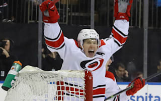 Hurricanes top Canucks in goal-fest, Blue Jackets win again