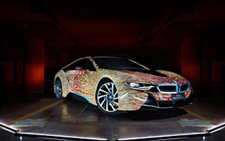 BMW partners with Garage Italia Customs through amazing i8