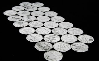 Most collectible 50p designs