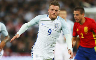 Vardy talks up 'brilliant' Southgate despite late Spain pain