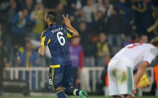 Fenerbahce 2 Lokomotiv Moscow 0: Sousa at the double