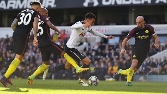 Spurs end City's unbeaten run, Arsenal snatch last-gasp win
