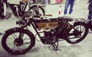 New motorcycle takes 'modern classic' to a whole new level