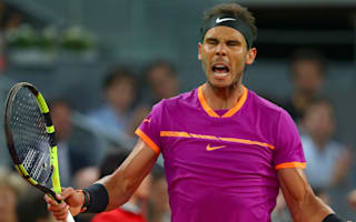 Nadal delighted with win over 'one of world's best' Goffin