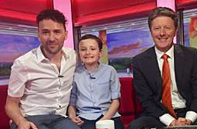 Boy with autism steals the show on BBC Breakfast