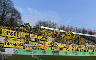 Police turn Dortmund fan buses away from Darmstadt