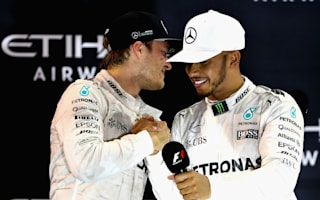 Hamilton tactics 'in the past' - Rosberg says Mercedes should move on