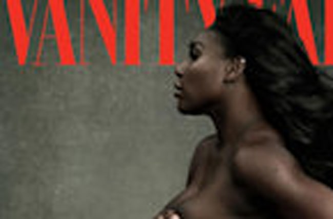 Pregnant Serena Williams Poses Nearly Naked for 'Vanity Fair' Opens Up About Surprise Pregnancy
