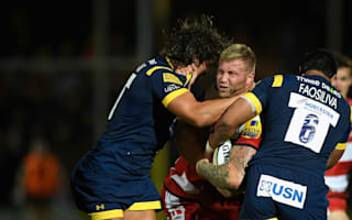 Fa'osiliva red card costs Worcester in draw with Gloucester