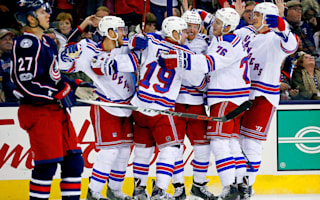 Rangers rally past Blue Jackets, Canucks beaten