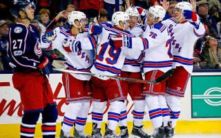 Rangers rally past Blue Jackets, Canucks beaten