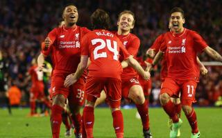 Liverpool 0 Stoke City 1 (1-1 agg, 6-5 pens): Allen, Mignolet send hosts to Wembley