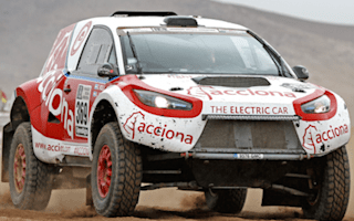 EV completes Dakar rally for the first time