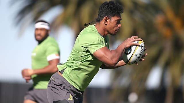 Simmons in at lock as Wallabies make 1 change for Argentina