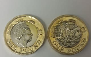 Scammers faking 'error' £1 coins