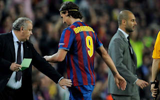Ibrahimovic: Facing Guardiola teams gives me adrenaline