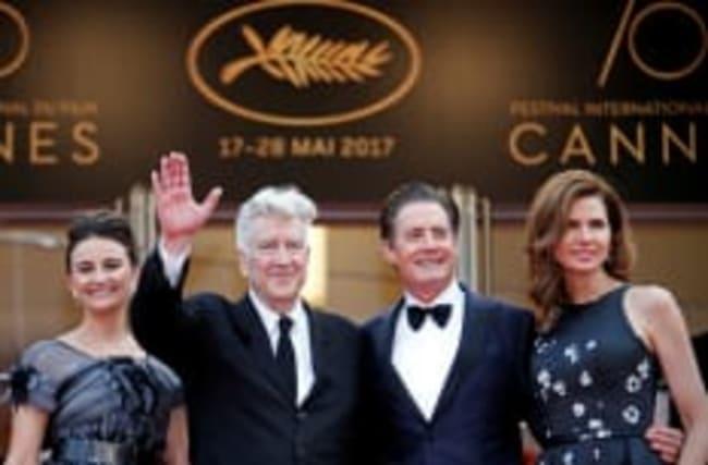 """Lynch sur le tapis rouge pour """"Twin Peaks"""", saison 3"""