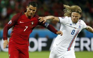 Iceland had aimed to beat Portugal - Bjarnason