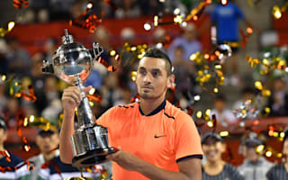 Battling Kyrgios claims first ATP 500 title with Tokyo triumph