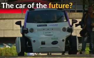 Driverless car tested on UK streets for the first time