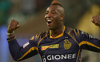 Russell's final-over heroics send Kolkata top of IPL
