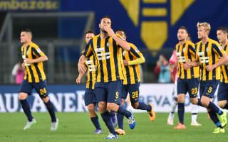 Verona 2 Juventus 1: Toni downs champions on farewell game