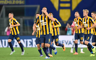 Verona 2 Juventus 1: Toni downs champions on farewell game