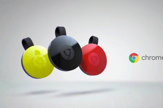 El nuevo Chromecast es pequeño, más rápido y de colores
